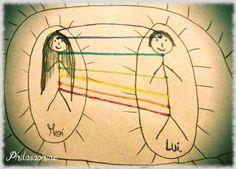 couper les liens toxiques entre vous et l'autre tout en conservant les liens d'amour.