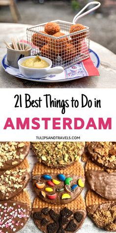 From thrillseeking activities to romantic canal cruises and the tastiest Dutch snacks you have to try. Enjoy the Ultimate Amsterdam Bucket List Challenge! Amsterdam Travel Guide, Amsterdam Food, Amsterdam Things To Do In, Visit Amsterdam, Amsterdam Itinerary, Amsterdam Trip, Eurotrip, Medan, Plant Based Snacks