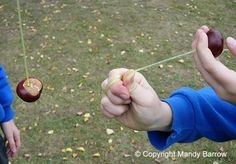 at around September in UK it was Conker fights time. All kids would go crazy in the parks looking for conkers on the conker tree. Everyone had theories on how to make them strong, soak them in vinegar and bake them were the favourites to try. 90s Childhood, Childhood Memories, Old Fashioned Games, English Games, Conkers, Traditional Games, Camping Games, All Kids, Teenage Years
