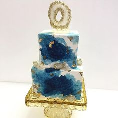 Wedding cakes that rock! Geode cakes are trendy and gorgeous - TODAY.com