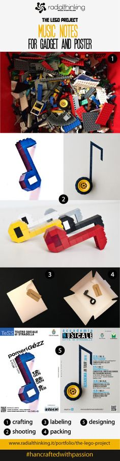 Lego bricks used to promote music events. #handcraftedwithpassion  #creativelego #legobricks #poster #music #photographics #graphicdesign #creativegadgets  #themakingof see the projects http://radialthinking.it/portfolio/the-lego-project