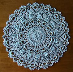 "from the book ""Victorian Spiral Doilies"" by Patricia Kristoffersen - a set on Flickr - photos and completed doilies by Elaine Pawelko"