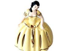 Figurines Dolls & Miniatures, Collectible Napkin Dolls, 1957, Kitchen Decor, Porcelain Dolls, Ceramic