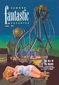 Famous Fantastic Mysteries Tentacled Robots http://www.walls360.com/science-fiction-wall-graphics-s/1949.htm