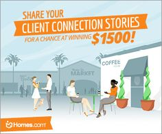 Share Your Client Connection Stories for a Chance to WIN $1500!