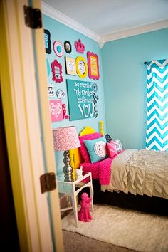 Totally doing something similar to B's room when she gets older