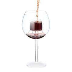 FOUNTAIN AERATING WINE GLASSES - SET OF 2