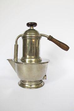 E.T.A. Kaffeemaschine (Perkolator) aus Italien 1930er/1940er Jahre (2/2)