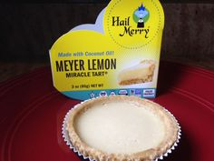 Gluten Free Product Review Hail Merry Meyer Lemon Miracle Tart http://wp.me/p2TQ6B-JB
