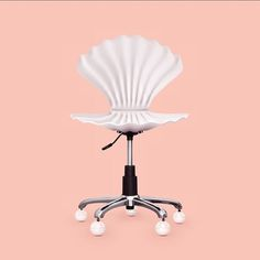 It's a clam shell chair Mermaid Bedroom, Mermaid Home Decor, Bedroom Themes, My New Room, Decoration, Sweet Home, Room Decor, Design, Instagram
