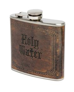 Holy water flask for the vampire hunting kit Whisky, Bushcraft, Water Flask, Vodka, Alcohol, Survival, Its A Mans World, Bar Tools, Unique Vintage