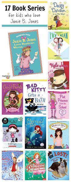 17 book series for kids who love Junie B. Jones