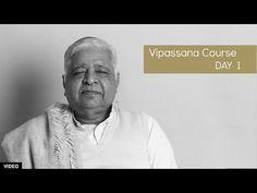 10 Day Vipassana Course - Day 1 (English) - YouTube Vipassana Meditation Retreat, Meditation Practices, Mindfulness Meditation, Guided Meditation, Meditation Youtube, Mindfulness Exercises, How To Stay Motivated, Spiritual Awakening, 10 Days