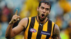 He's back: Lance Franklin will return for the Hawks against Sydney!