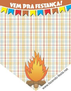 convite Bunting Flags, Box Branding, Free Printables, Banner, Party, Gabriel, Arches, Garlands, Digital Art
