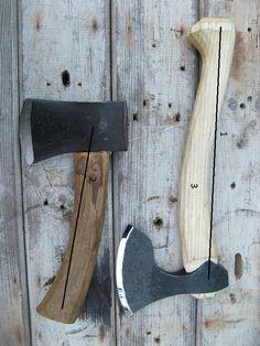 Making axe handles WRITEUP