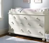 Catalina Extra-Wide Dresser & Changing Table Topper Set