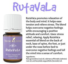 Rutavala essential oil blend
