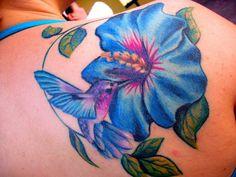 30 Peaceful Hummingbird Tattoos | CreativeFan
