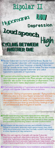 Bipolar II #bipolar bipolar disorder #bipolardisorder