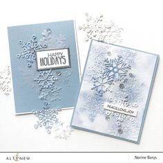 Want to know more about Handmade Christmas Card Ideas Diy Christmas Snowflakes, Snowflake Cards, Christmas Diy, Handmade Christmas, Homemade Christmas Cards, Stampin Up Christmas, Altenew Cards, Stampin Up Cards, Xmas Cards