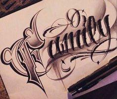Kết quả hình ảnh cho caligrafia family