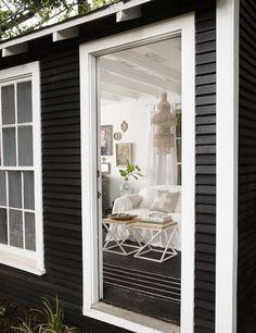 Design*Sponge | Paige Morse makes over her backyard 'feral sheds'