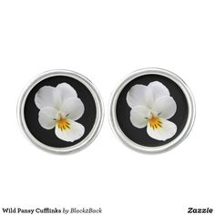 Shop Wild Pansy Cufflinks created by Personalize it with photos & text or purchase as is! Designer Cufflinks, Waterproof Coat, Stylish Men, Pansies, Studs, Fancy, Jewelry, Bijoux