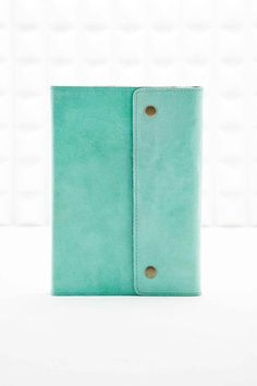 Shop Oh Snap Leather Notebook in Mint at Urban Outfitters today. We carry all the latest styles, colours and brands for you to choose from right here. Urban Outfitters, Lined Notebook, Leather Notebook, Desk Organization, Paper Clip, Couture, Cleaning Wipes, Stationery, Mint