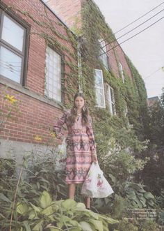 Malcolm Starr dress from Featherstone Vintage. I heart Magazine. Photographed by Chloe Gassian. Styled by Tinashe Musarara
