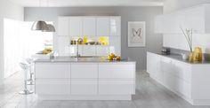 Malmo White - County Kitchens