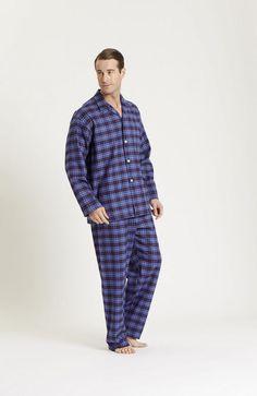 d559d6260e Brushed Cotton Elastic-Waist Men s Pyjamas - Winter Sale 2018. Mens  NightshirtsNight WearPyjamasElastic ...