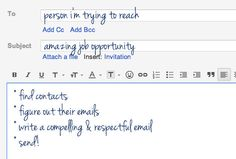 How to email someone you don't know about a job by Jaime Petkanics on The Prepary