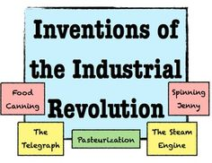 Inventions of the Industrial Revolution - Students rank, analyze, & watch! 5th Grade Social Studies, Social Studies Activities, Teaching Social Studies, Teaching History, Industrial Revolution History, History Classroom, Singing Tips, American Revolution, Lesson Plans