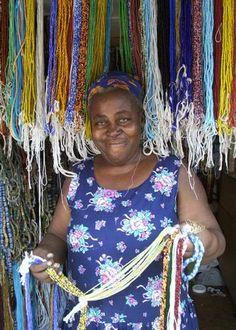 Auntie Paulina, Ghana Bead Market