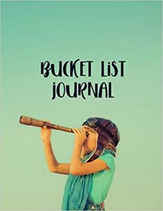 "Amazon.com: Bucket List Journal: A simple planner for your top 100 Bucket List activities. Record your dreams, experiences, and inspirations. 8.5""x11"" 102 pages (9798676847906): Media, Rebekah"