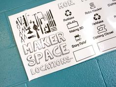 See how introducing fluid, diverse makerspaces throughout a school can engage students in playing, collaborating, learning, and finding their passions. School Library Design, Classroom Design, Maker Labs, Student Voice, Computational Thinking, 21st Century Classroom, Arts Integration, 21st Century Skills, Teaching Materials