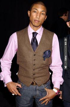 Pharrell Williams | CHECK OUT MORE IDEAS AT WEDDINGPINS.NET | #bridesmaids