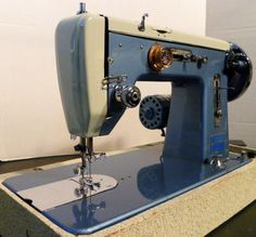 The Happy Industrial Corporation of Japan made this fine vintage sewing machine for Montgomery Wards.