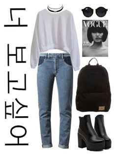 """""""Untitled #214"""" by rowan-asha ❤ liked on Polyvore featuring moda, Maison Margiela, Charlotte Russe y O'Neill"""