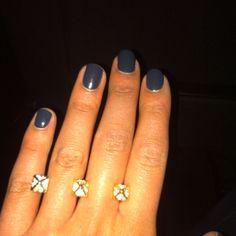 My hand. My ring. My polish. My style.
