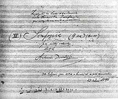 Symphony no 8 in G minor - op 88 - Dvorak