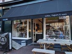 Yoghurt Barn Haarlem: lees hier mijn review. Barn, Restaurant, Outdoor Decor, Home, Converted Barn, Diner Restaurant, Ad Home, Homes, Restaurants