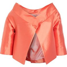 Barbara Tfank Pleat Back Jacket -