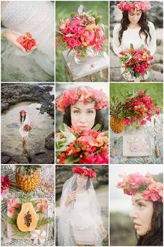 Hawaii Wedding Inspiration  WarmPhoto Photography  Bridal Musings Wedding Blog