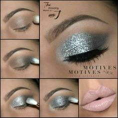 repost from @theamazingworldofj Goodmorning all you beautiful babes  Here is a detailed step by step on how to achieve my last glittery silver and nude look Please let me know what you'd like to see next!!! Details: @motivescosmetics -Eye Base -for @Lala Pressed Eyeshadow in Captured on the crease and outer v -Pressed Eyeshadow in Platinum -Glitter Base -Glitter in Aspire and Celebrate -Gel Eyeliner LBD on the waterline -Lipstick for @Lala in Nice…