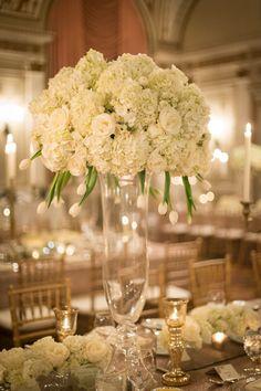Erin & Aaron — Full Bloom Wedding Table, Wedding Reception, Wedding Theme Inspiration, Wedding Ideas, Elegant Winter Wedding, Reception Areas, Centre Pieces, Marry Me, Dream Wedding