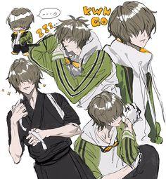 Cute Anime Boy, Anime Guys, Mutsunokami Yoshiyuki, Manga Characters, Touken Ranbu, Drawing Reference, Haikyuu, Sword, Anime Art
