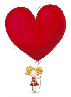 Happy Birthday Cards Handmade, Cute Happy Birthday, Telegram Stickers, Red Balloon, Couple Drawings, Cartoon Pics, Heart Art, Diy Cards, Happy Mothers Day
