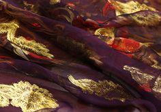 Tissu en mousseline de soie imprimée dété robe par HQFabricFamily